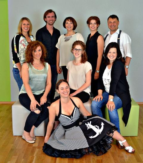 Team der Tanzschule Fieder Schweinfurt