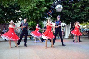 Auftritt Lindy Hop Tanzschule Fiedler Schweinfurt