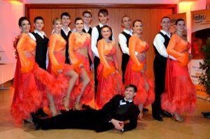 Formation Tanzschule Fiedler Schweinfurt