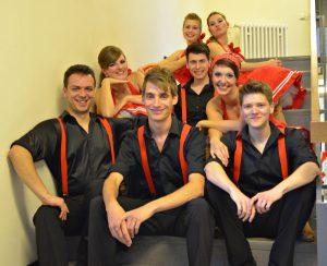 Lindy Hop Formation beim Tanzfestival im Theater Schweinfurt