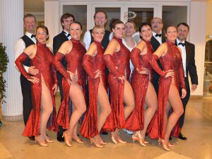Standardformation Tanzschule Fiedler Schweinfurt
