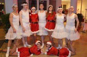 Weihnachtselfchen Schneeflöckchen Weihnachtsball Tanzschule Fiedler Schweinfurt