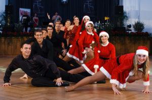 Nikolausmädchen der Tanzschule Fiedler Schweinfurt